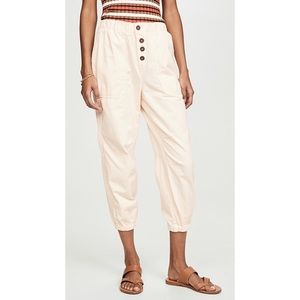 Free People NWT Cadet Pull-On Joggers Size Small